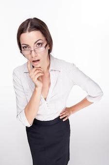 Obrazek piękny bizneswoman