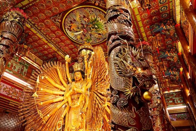 Obrazy guanyina, chińskiego boga
