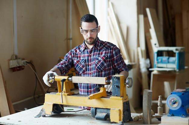 Obróbka drewna maszynowego