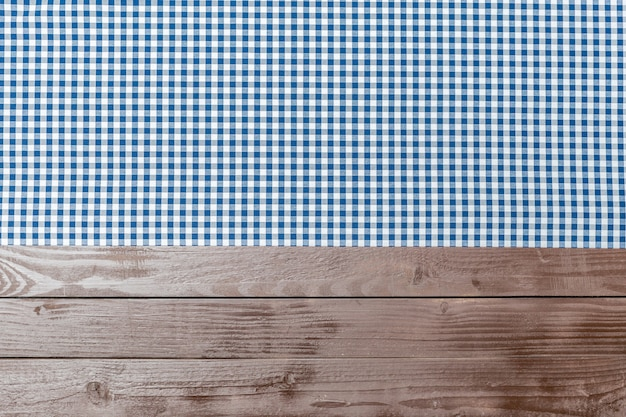 Obrus włókienniczych na drewniane tła