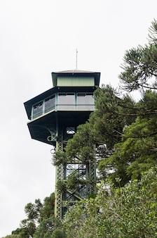 Obserwatorium w parku ślimaków