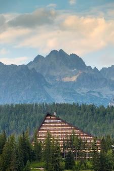 Obszar kurortu w parku narodowym wysokie tatry