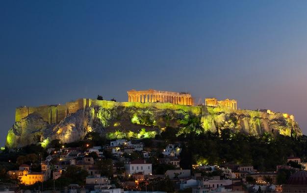 Obszar lądowy akropolu