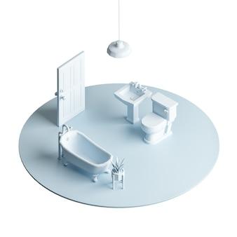 Obszar łazienki