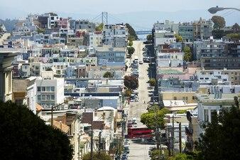 Obszar mieszkalny w San Francisco