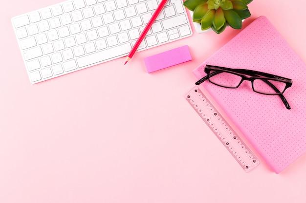 Obszar roboczy studenta lub freelancera