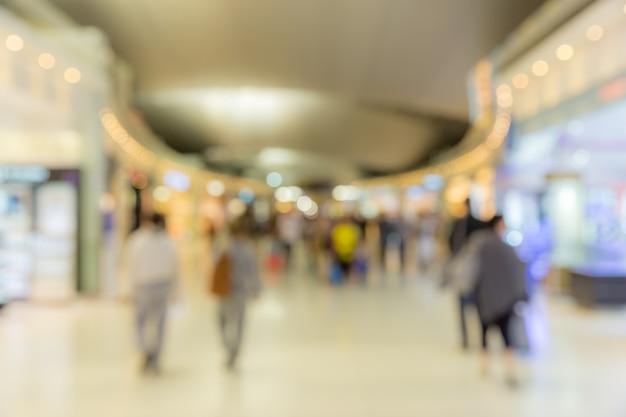 Obszar wejścia na pokład lotniska niewyraźne tło