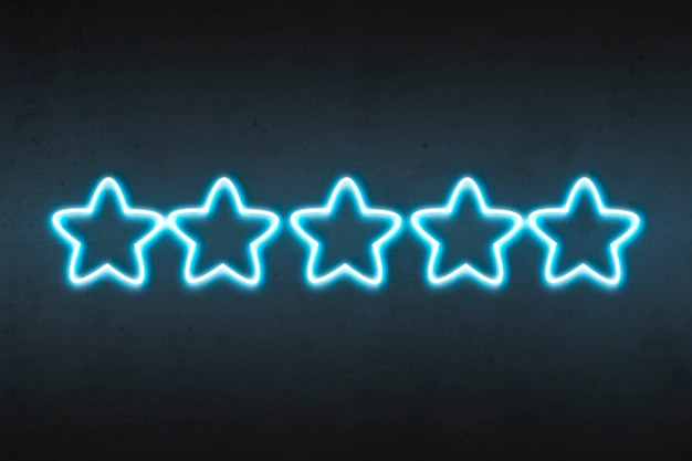 Ocena gwiazd neonowych