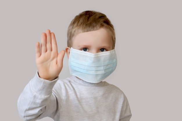 Ochrona zdrowia przed różnymi wirusami i chorobami. koncepcja zapobiegania kwarantannie i chorobom.