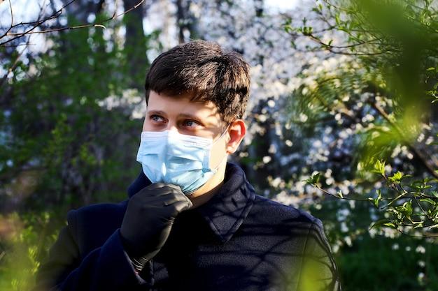 Ochrona zdrowia przed różnymi wirusami i chorobamikoncepcja kwarantanny i zapobiegania chorobom