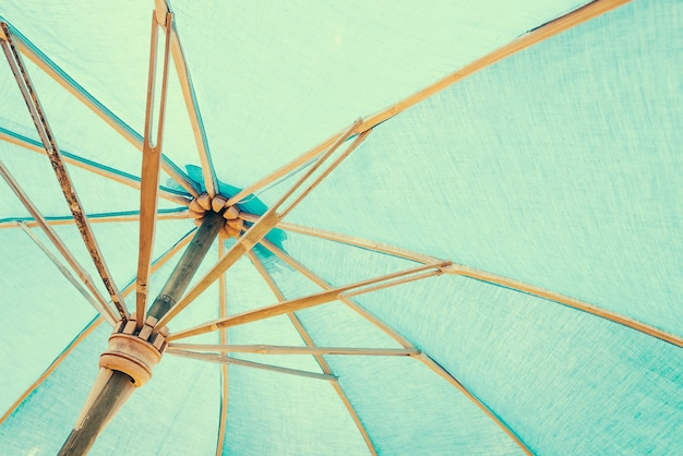 Ochrona zielony parasol parasol niebo