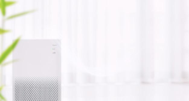 Oczyszczacz Powietrza Z Filtrem Do Czystszego Usuwania Drobnego Kurzu Premium Zdjęcia