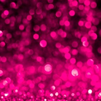 Odblaskowy różowy brokat