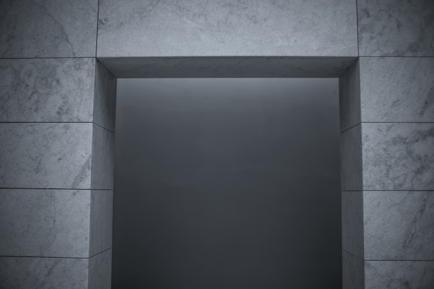 Odcienie szarości ściany pod oświetleniem - świetne jako tło i tapety