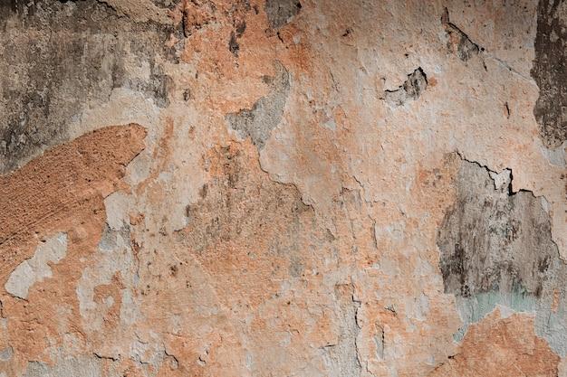 Oderwana tekstura starej ściany pomalowanej