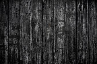 Odgórny widok czarny drewniany tekstury tło, drewniany stołowy puste miejsce dla projekta.