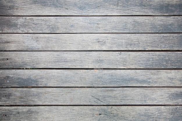 Odgórny widok stara drewniana tekstura, naturalny ciemny drewniany dla backgroud.