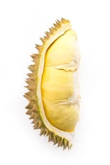 Odizolowane owoce durian
