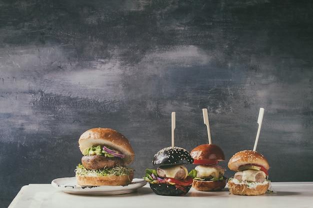 Odmiana domowej roboty hamburgery
