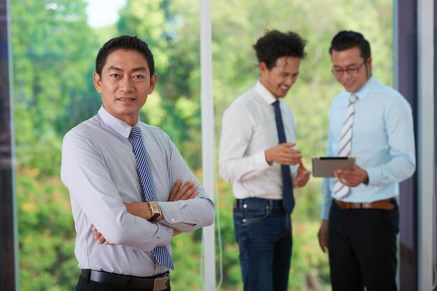 Odnoszący sukcesy przedsiębiorca