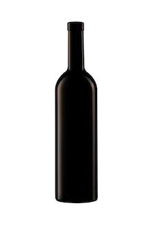 Odosobniona butelka wina