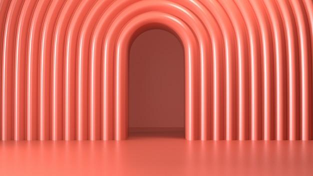 Odpłaca się wizerunek abstrakta menchii koloru geometryczny tło