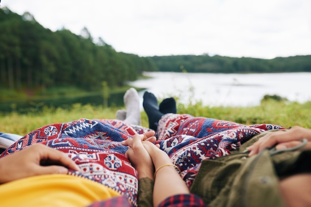 Odpoczywająca para