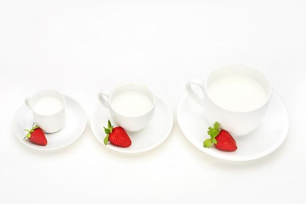 Odżywianie śniadanie truskawki pyszne witaminy