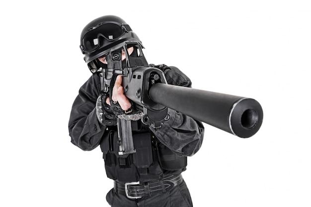Oficer policji swat