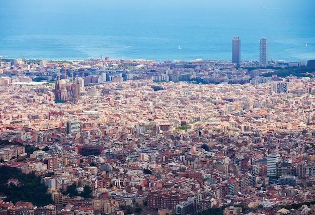 Ogólny widok barcelony