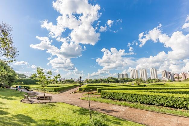Ogród botaniczny, curitiba. stan parana, brazylia