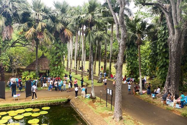 Ogród botaniczny w pamplemus