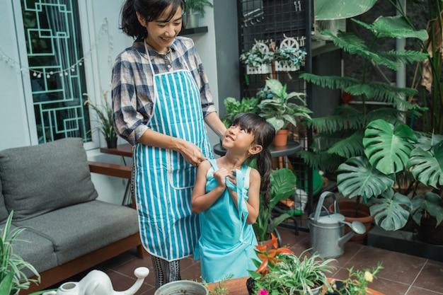 Ogrodnictwo matki i córki