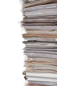 Ogromny stos papierów