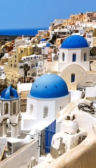Oia santorini sprit w grecji
