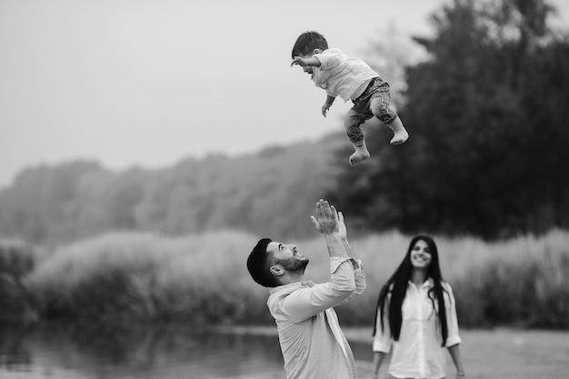 Ojciec rzucał syna
