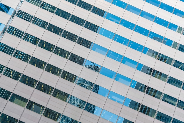Okna budynku biznesu