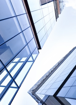 Okna wieżowca business office