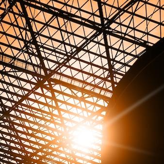 Okno dachowe - tło architektoniczne