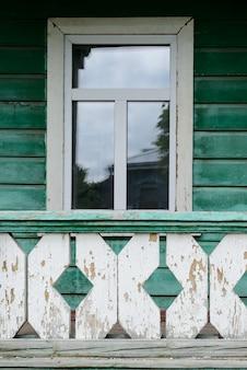 Okno w stylu vintage