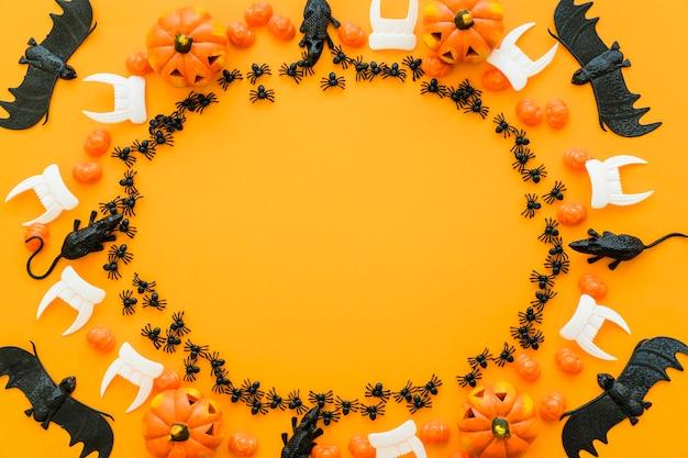 Okólnik halloween tle