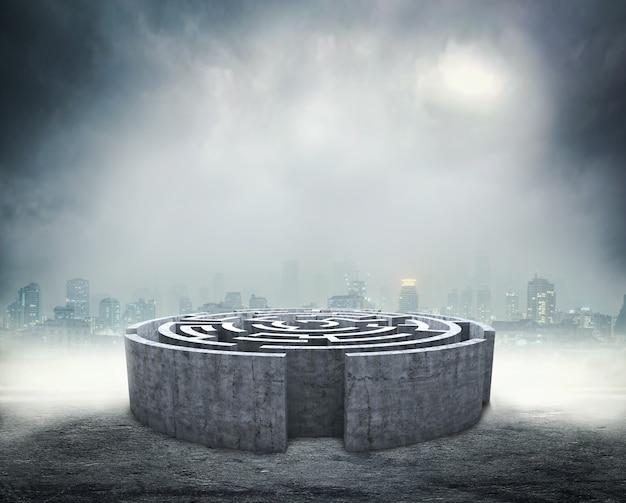 Okrągły labirynt