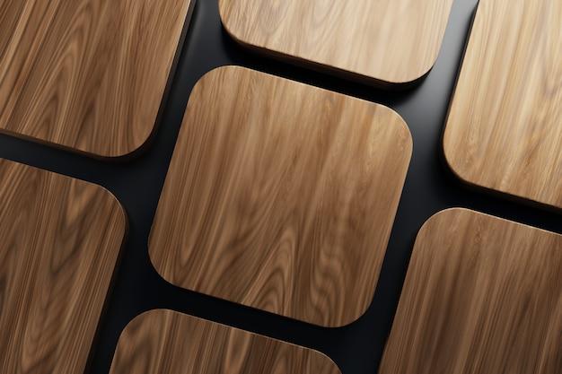 Okrągły narożnik drewniany