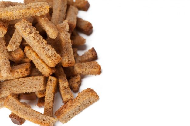 Okruchy grzanek z chleba