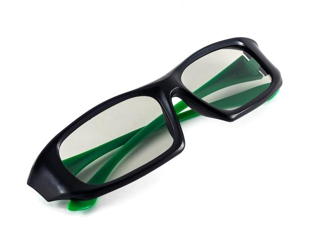 Okulary 3d do użytku podczas oglądania filmów w kinie