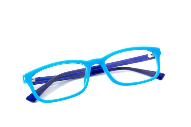 Okulary dla dzieci w niebieskiej oprawie