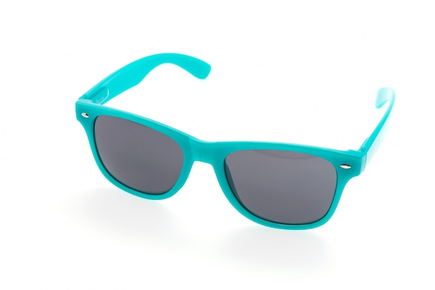 Okulary przeciwsłoneczne okulary samodzielnie na białym tle