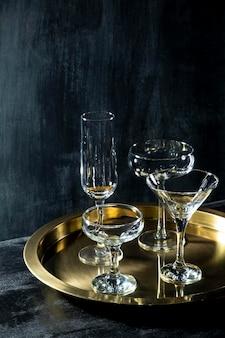 Okulary z szampanem
