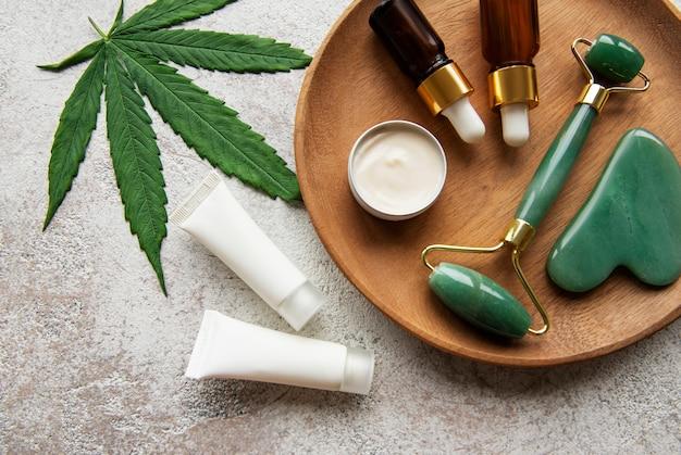 Olej cbd nalewka z konopi indyjskich produkt kosmetyczny do pielęgnacji skóry