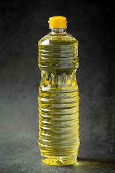 Olej sojowy sojowe produkty spożywcze i napoje pojęcie odżywiania żywności.